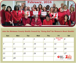 Kristen Guenther, Hickman County, Tennessee, Women's Heart health