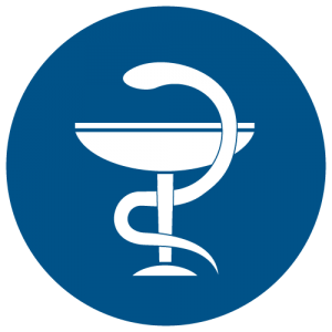 NPS Pharmacy Blue Icon