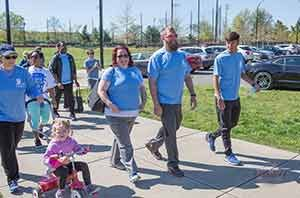 NAMI Davidson County, 5k, NAMI walk, mental health awareness, Team MHC, Josh Thompson, Michael Randolph, Adam Graham, Trisha Keehn, Ashley Brown, Memories by Murray, 2017