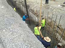 foundation, crisis treatment center, construction