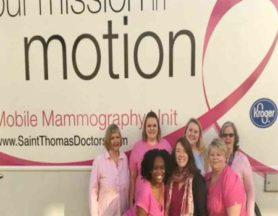 mobile mammogram, St. Thomas, Susan G. Komen