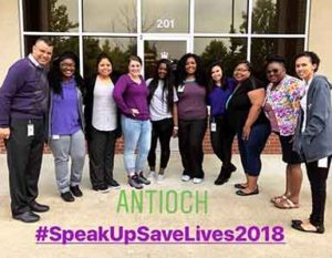 suicide awareness, speak up, save lives, antioch